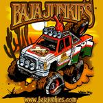 My good friend at Baja Junkies (Chad Fryman) wanted a design that targeted the chase crews that run wild in Baja....